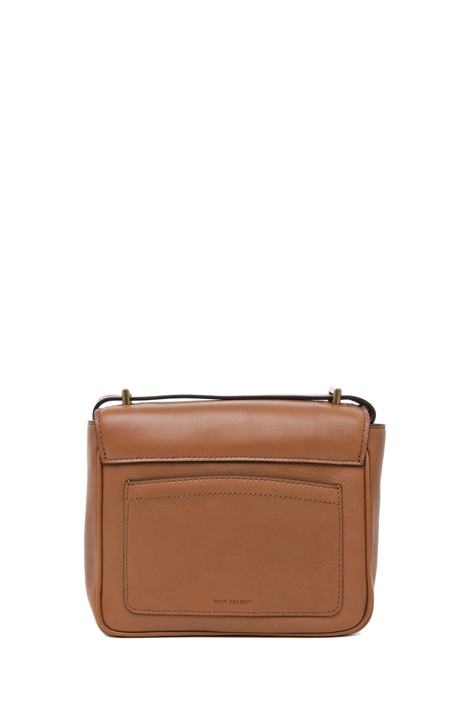 Image 2 of Reed Krakoff Standard Mini Shoulder Bag in Saddle