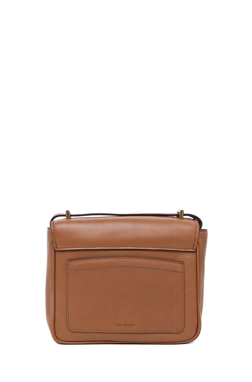 Image 2 of Reed Krakoff Standard Mini Shoulder Bag in Saddle