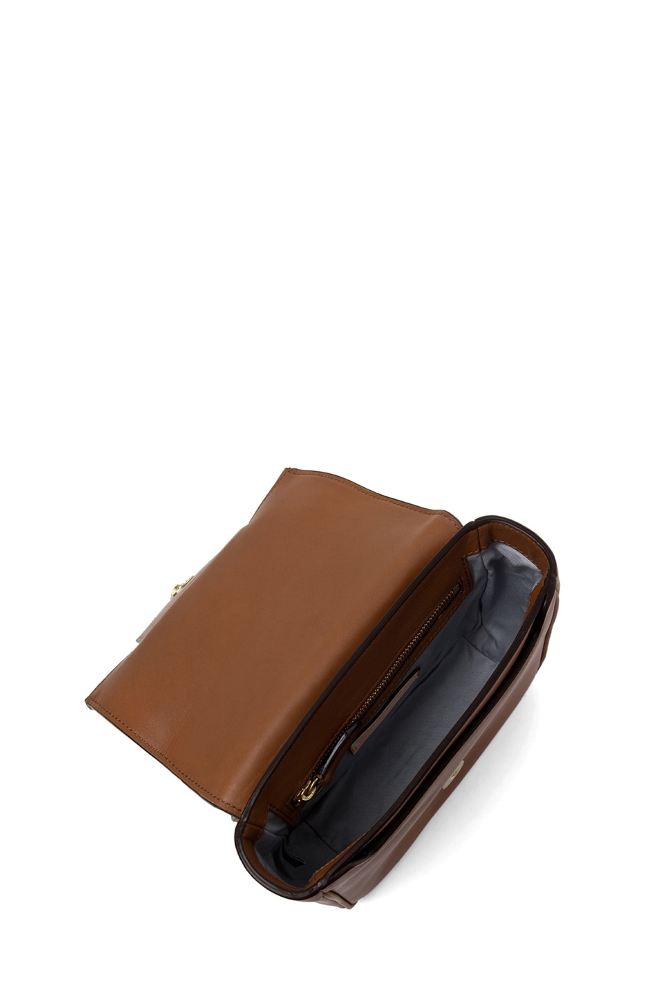 Image 4 of Reed Krakoff Standard Mini Shoulder Bag in Saddle