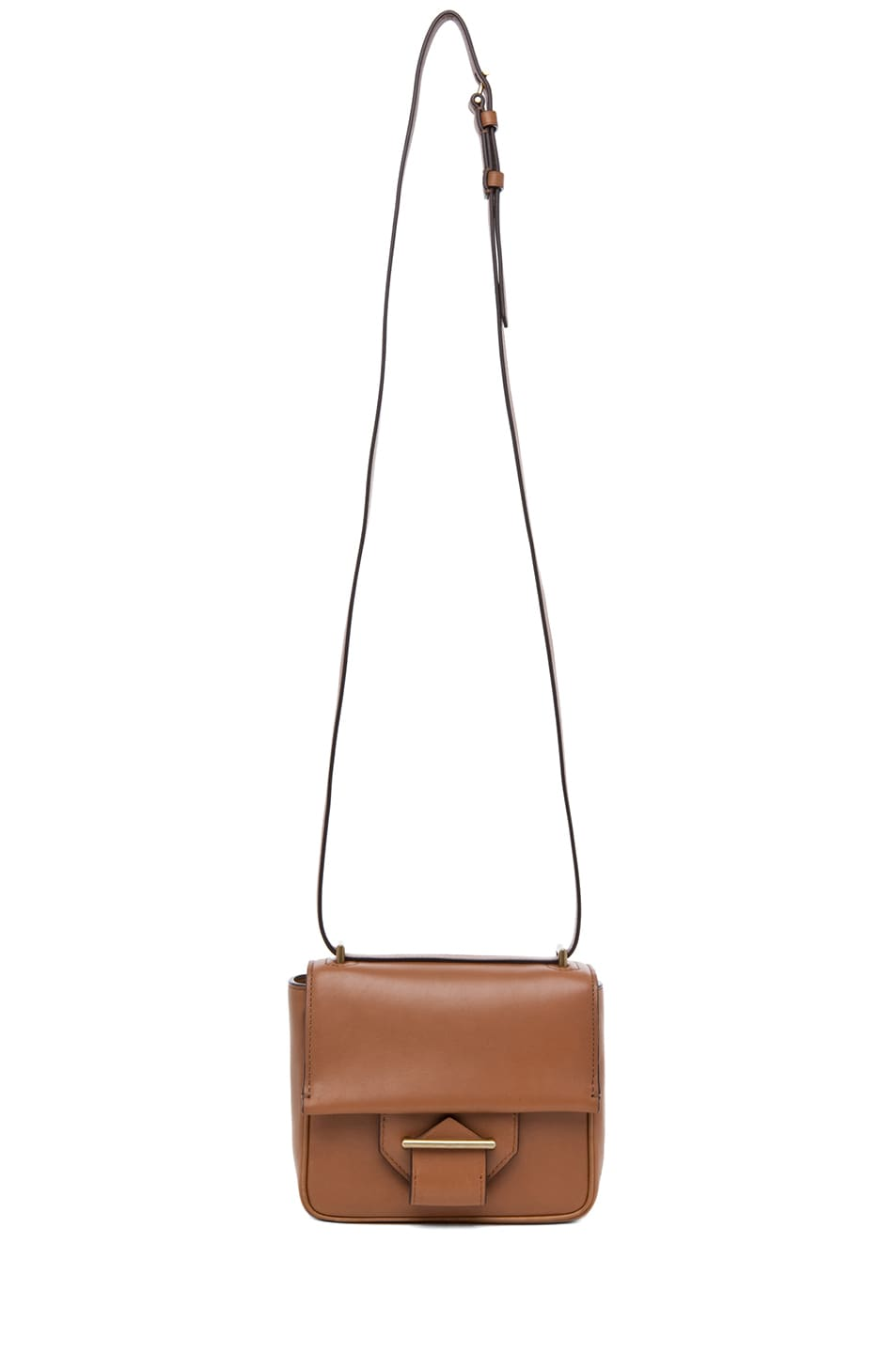 Image 5 of Reed Krakoff Standard Mini Shoulder Bag in Saddle