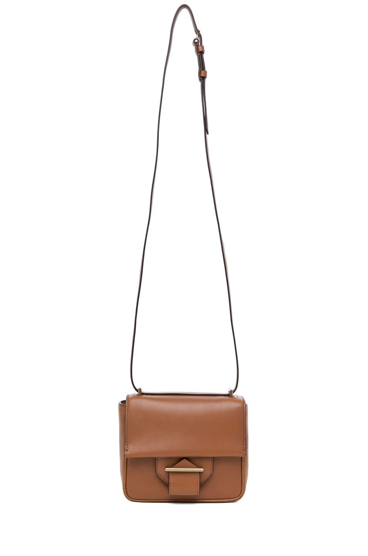 Image 5 of Reed Krakoff Standard Mini Shoulder Bag in Saddle