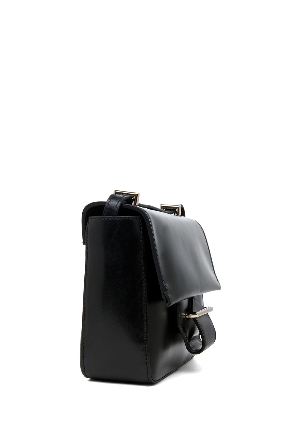 Image 3 of Reed Krakoff Standard Mini Shoulder Bag in Black