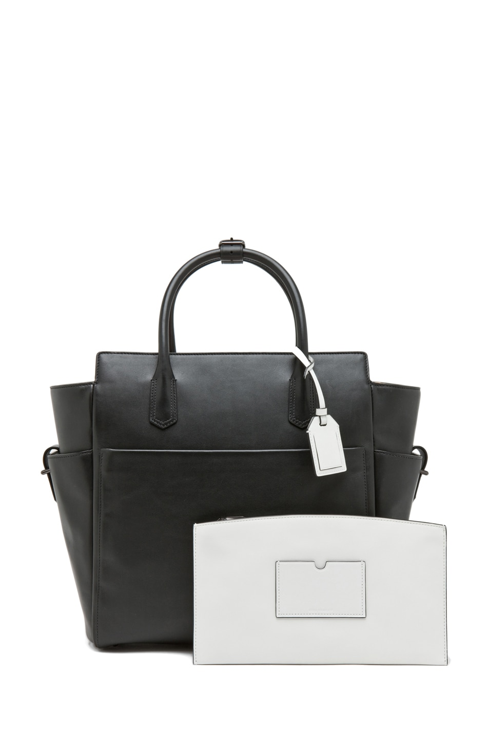 Image 4 of Reed Krakoff Atlantique in Black/White Multi