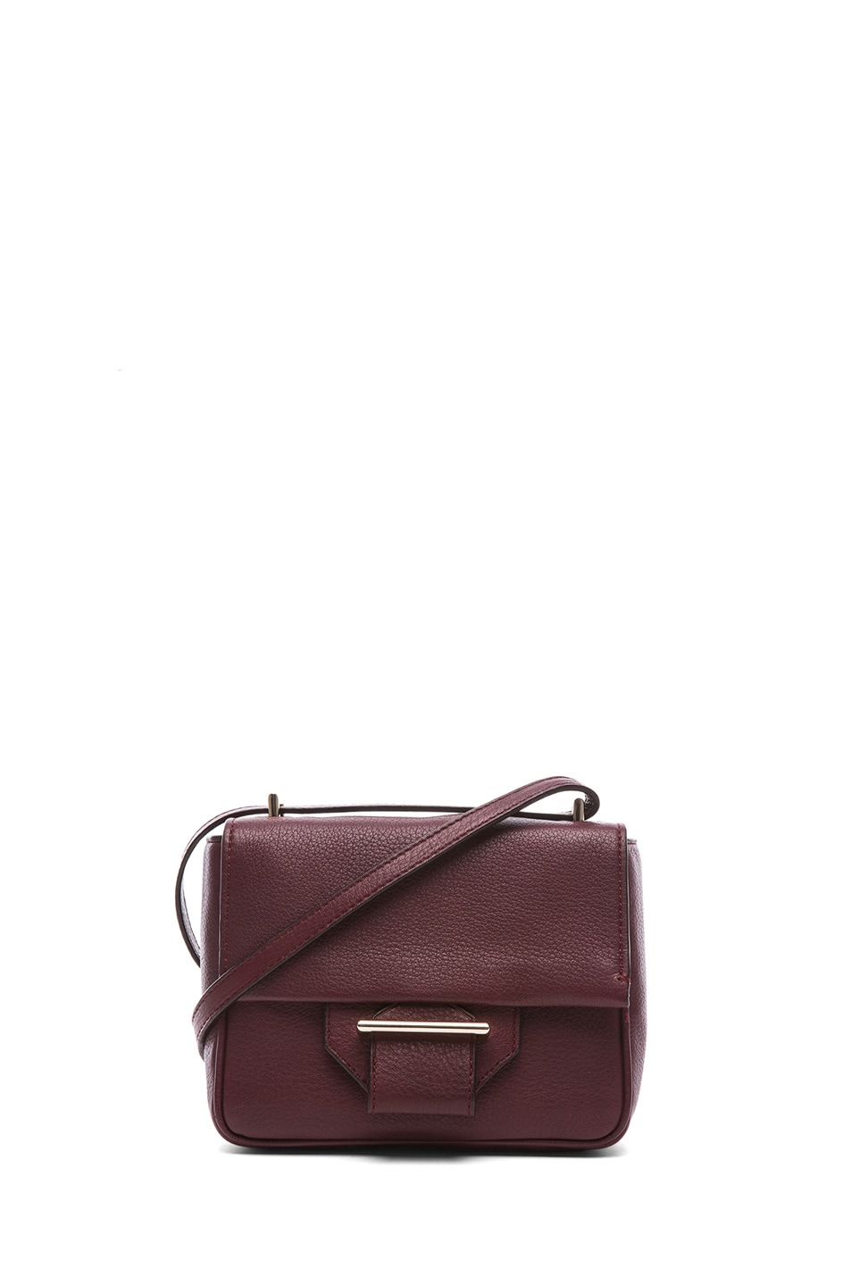 Image 1 of Reed Krakoff Mini Standard Shoulder Bag in Cordovan