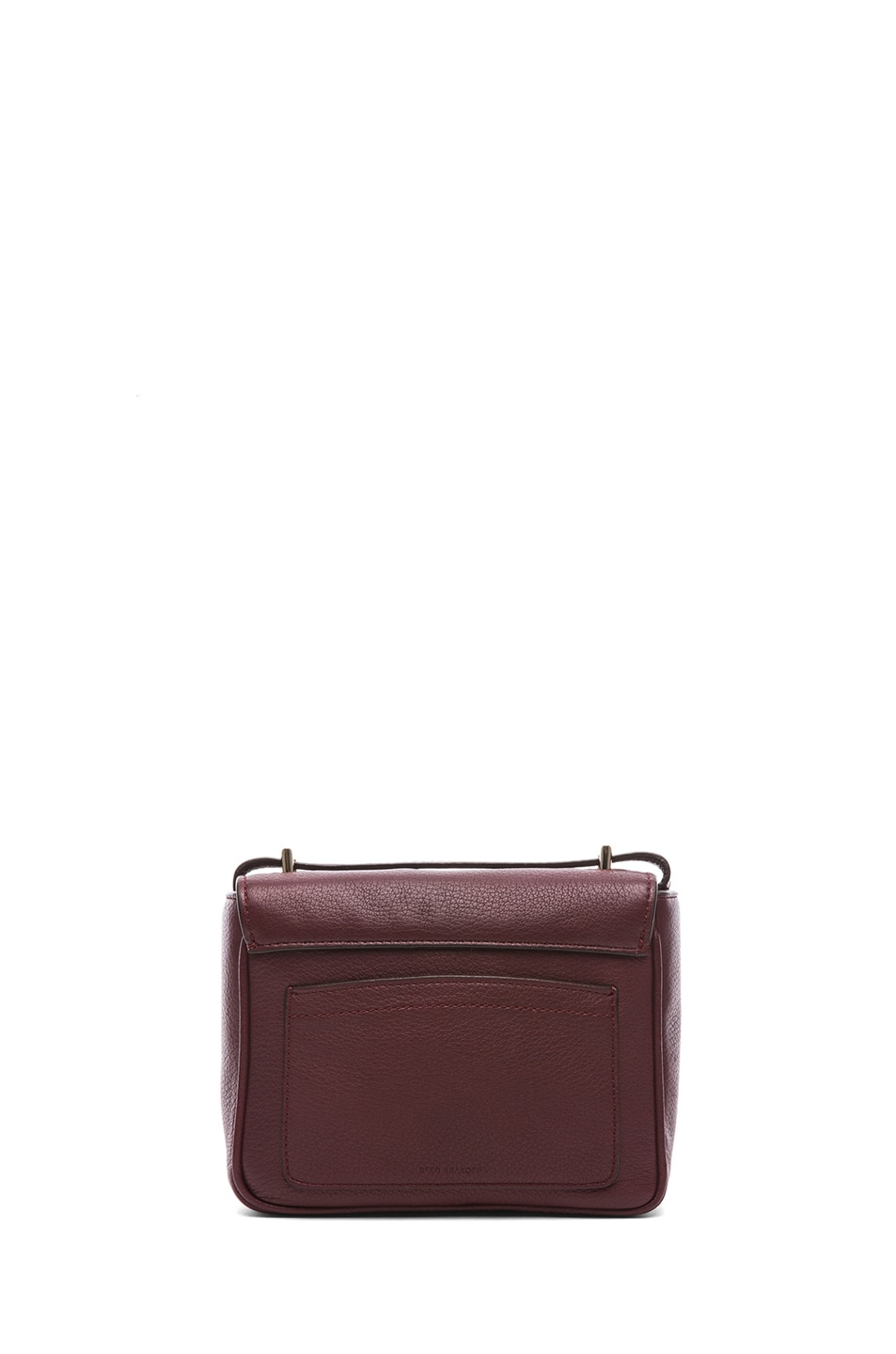 Image 2 of Reed Krakoff Mini Standard Shoulder Bag in Cordovan