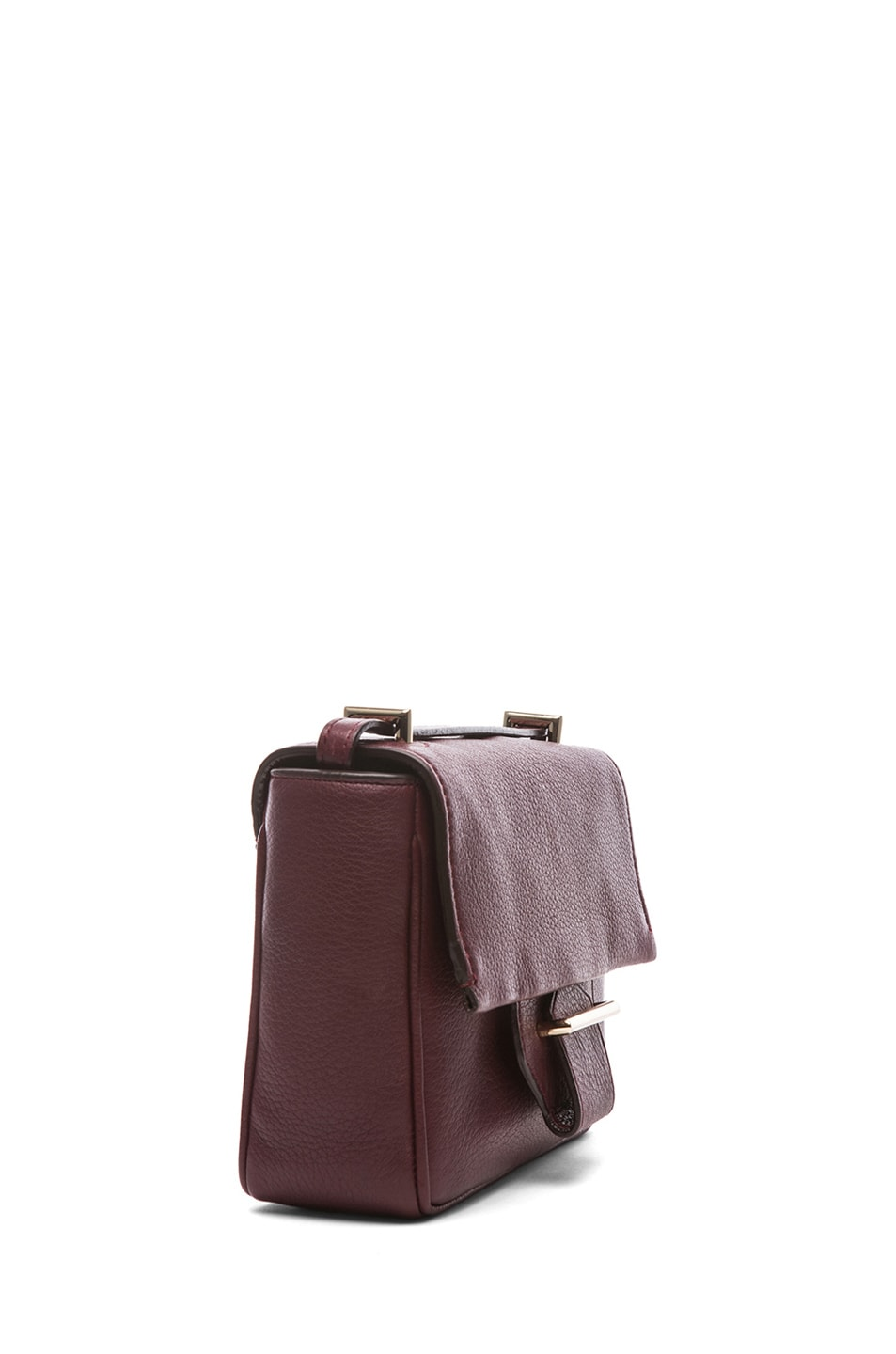 Image 3 of Reed Krakoff Mini Standard Shoulder Bag in Cordovan