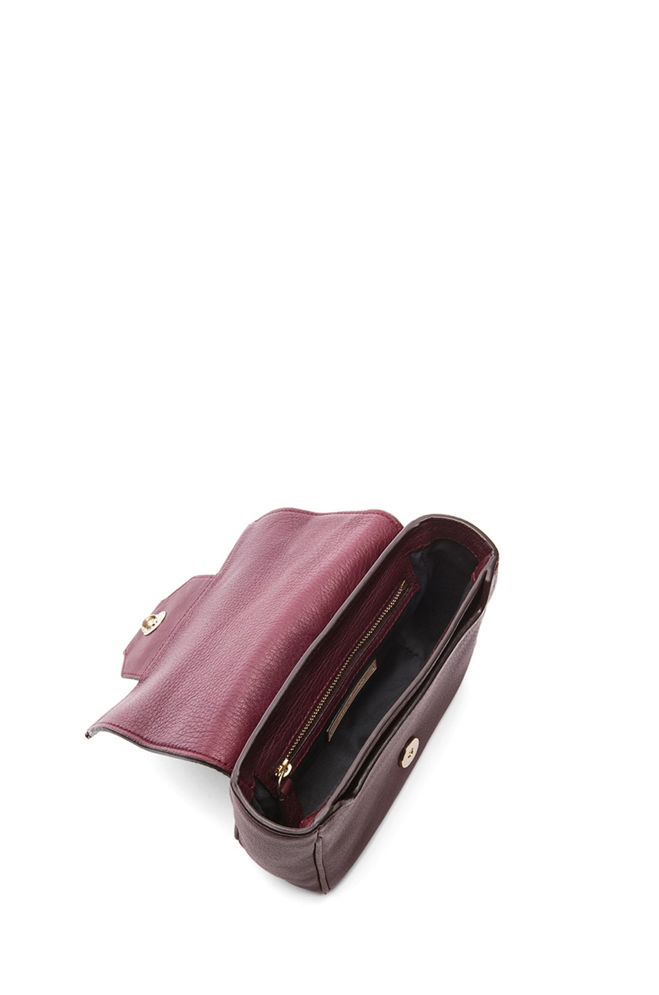 Image 4 of Reed Krakoff Mini Standard Shoulder Bag in Cordovan