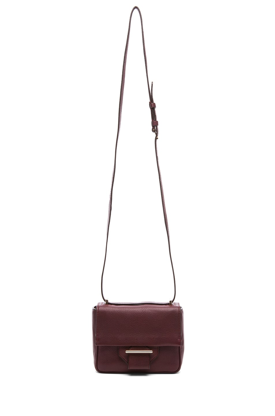 Image 5 of Reed Krakoff Mini Standard Shoulder Bag in Cordovan