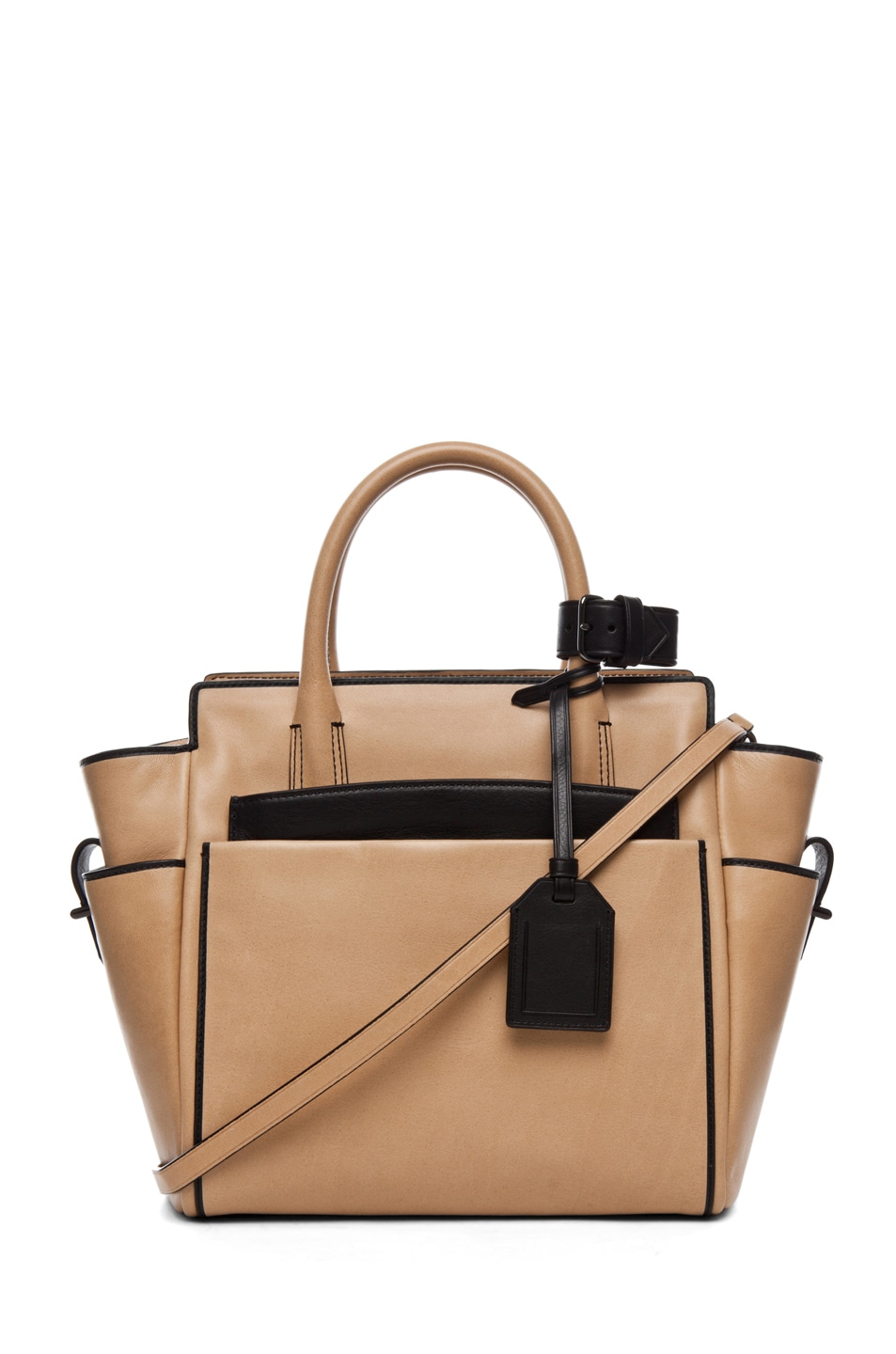 Image 1 of Reed Krakoff Mini Atlantique in Nude