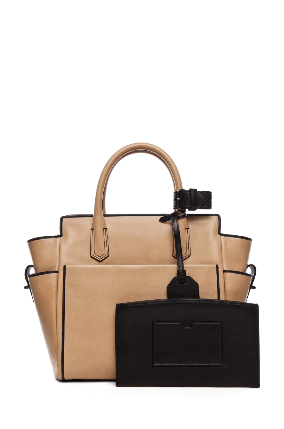 Image 4 of Reed Krakoff Mini Atlantique in Nude