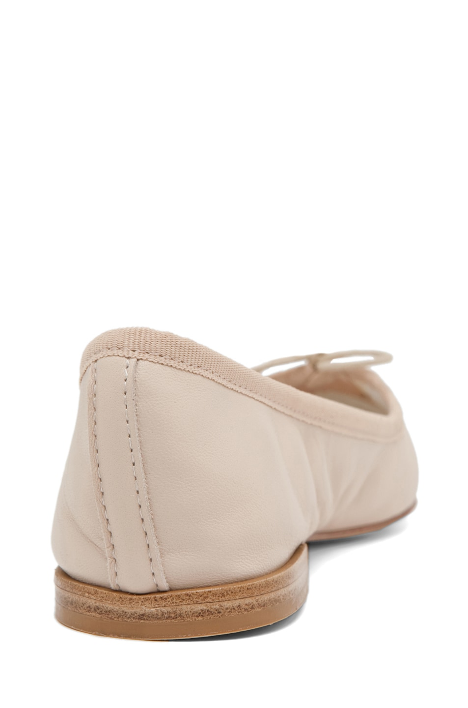 Image 3 of Repetto Lambskin Flat in Nude