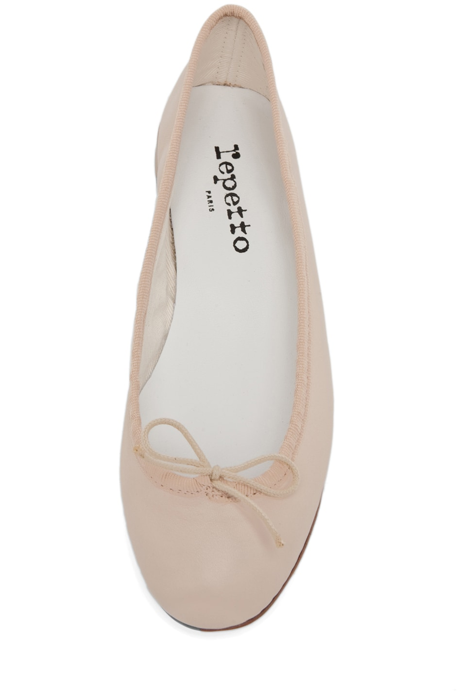 Image 4 of Repetto Lambskin Flat in Nude