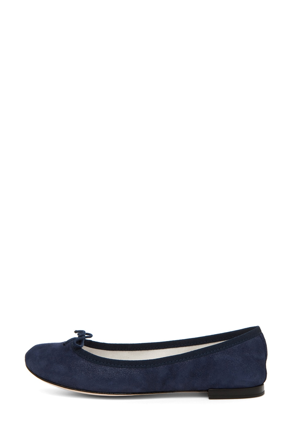 Image 1 of Repetto Suede Flat in Navy