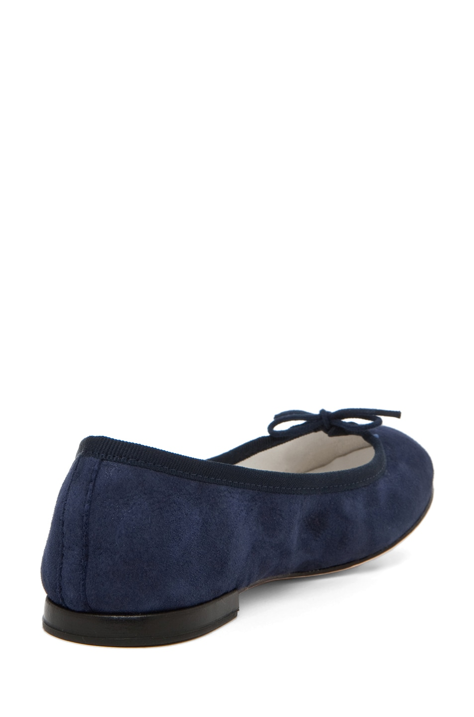 Image 3 of Repetto Suede Flat in Navy