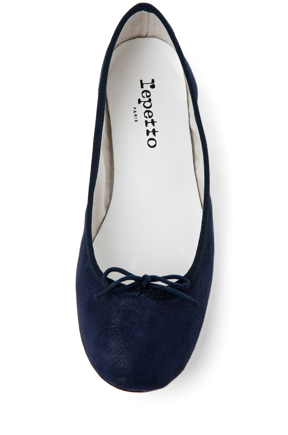 Image 4 of Repetto Suede Flat in Navy