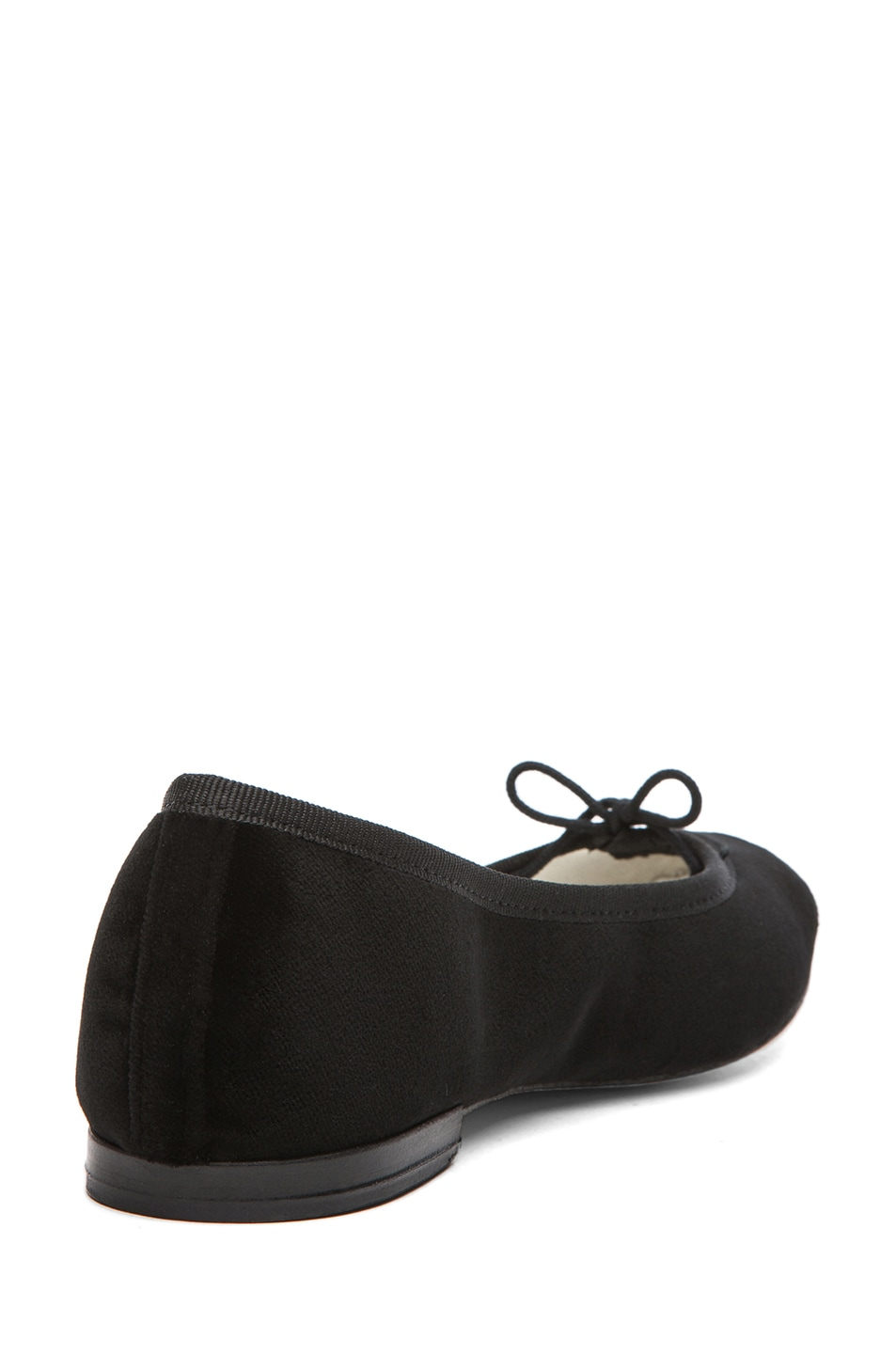 Image 3 of Repetto Velour Flats in Black