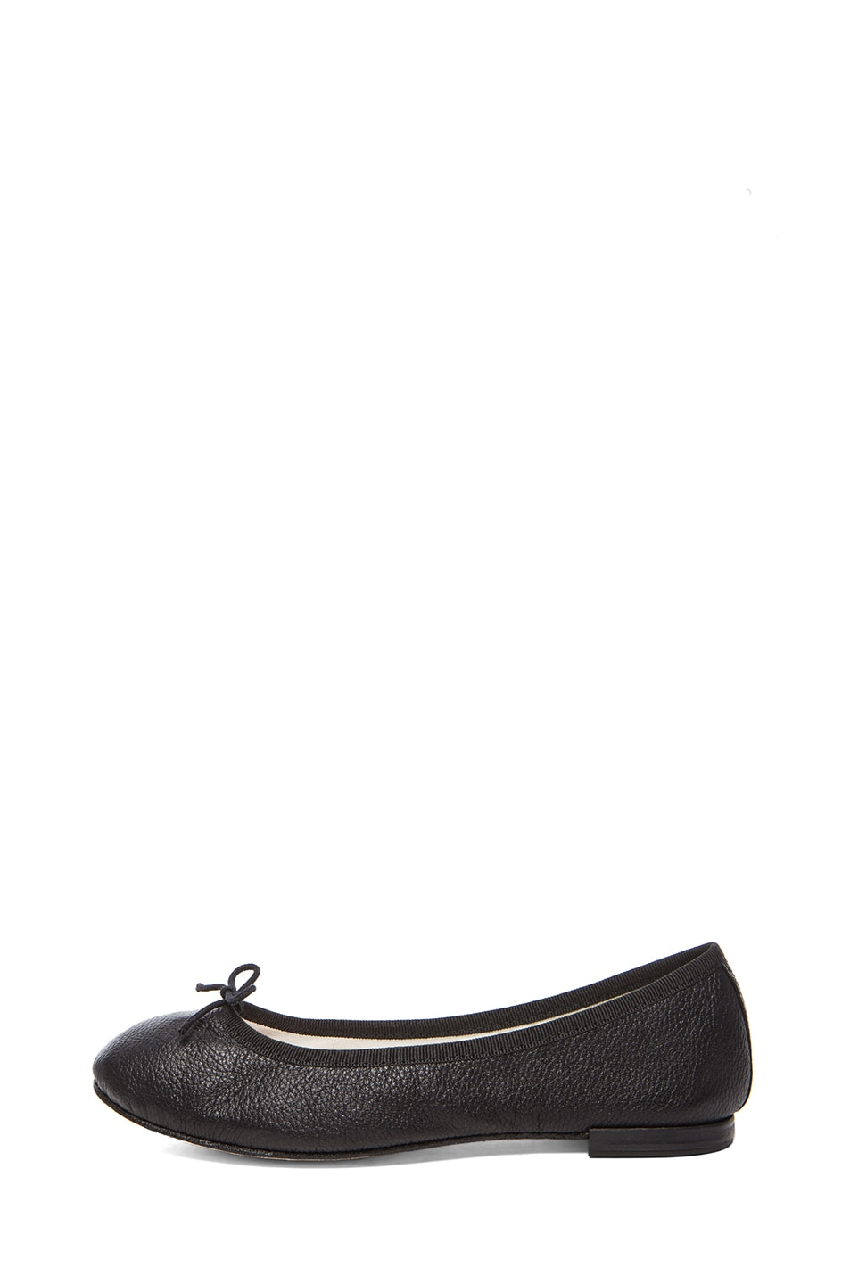 Image 1 of Repetto Goatskin Leather Flats in Black