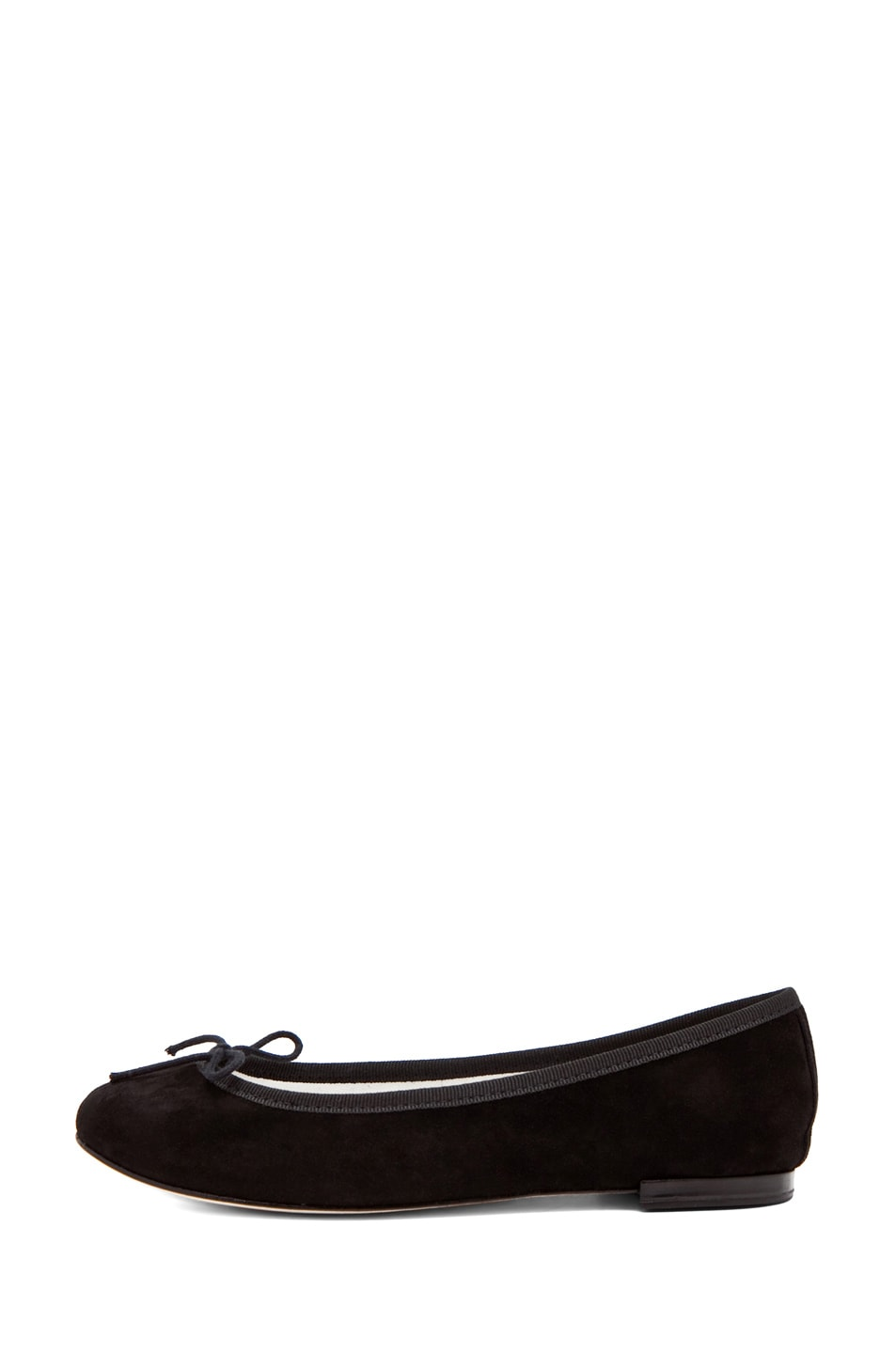 Image 1 of Repetto Suede Flat in Black