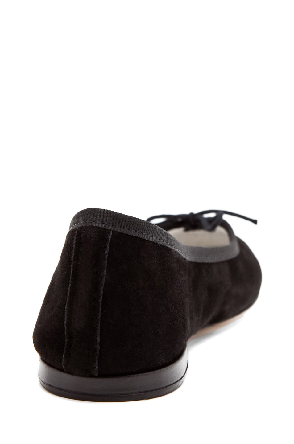 Image 3 of Repetto Suede Flat in Black