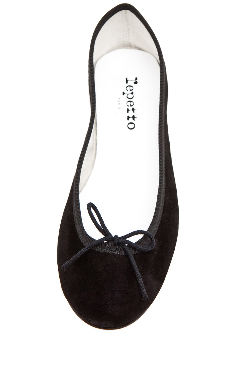 Image 4 of Repetto Suede Flat in Black