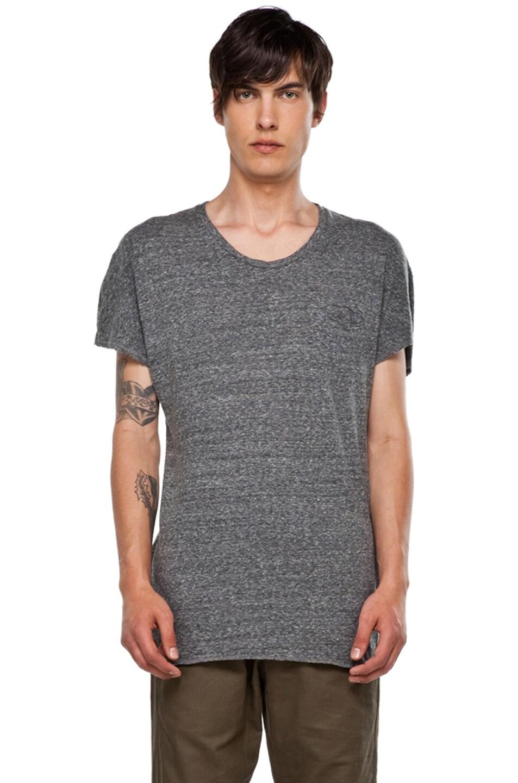 Image 1 of Robert Geller Ludwig Dock T Shirt in Grey