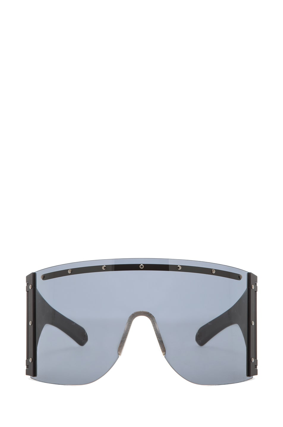 Image 1 of Rick Owens Sunglasses in Black Raw