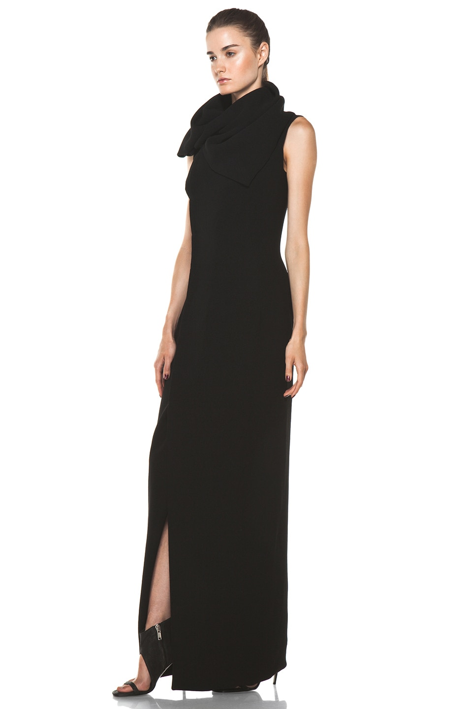 Image 2 of Rick Owens Lab Gown in Black