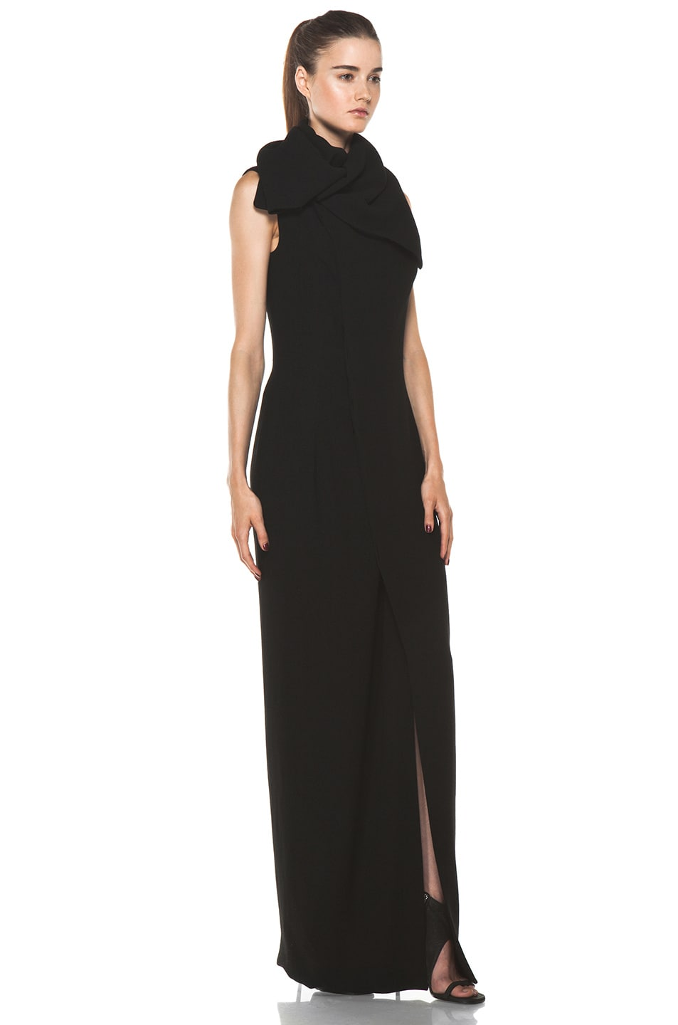 Image 3 of Rick Owens Lab Gown in Black