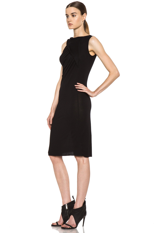 Image 2 of Rick Owens Naska Dress in Black