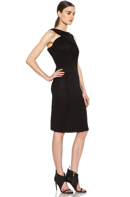 Image 3 of Rick Owens Naska Dress in Black