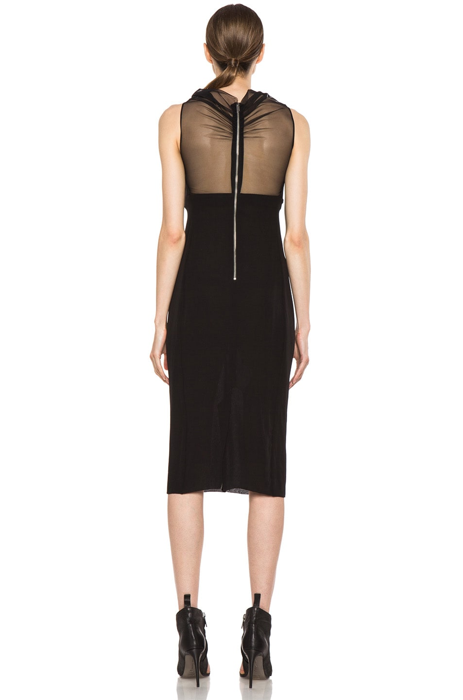 Image 4 of Rick Owens Prong RUNWAY Dress in Black