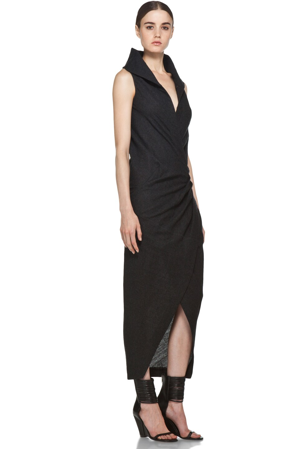 Image 3 of Rick Owens Marella Dress in Black