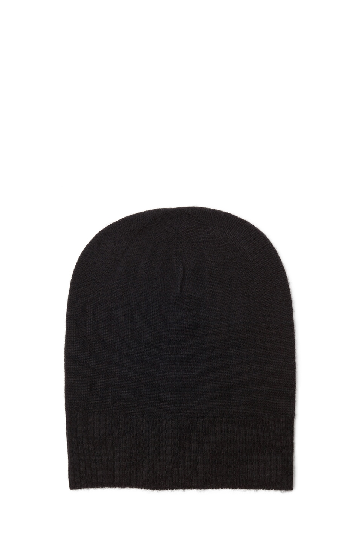Image 1 of Rick Owens Hat in Black