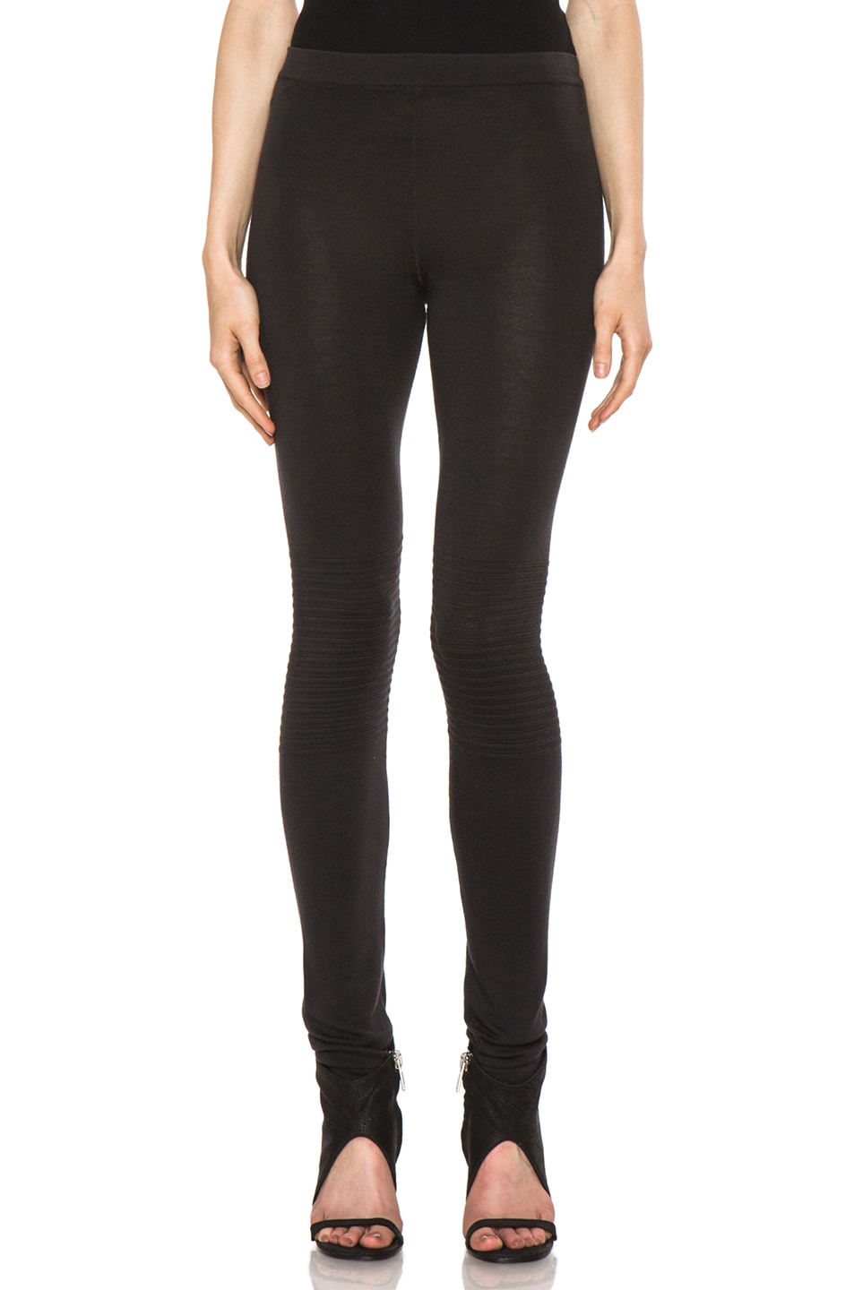 Image 1 of Rick Owens Knit Legging in Faded