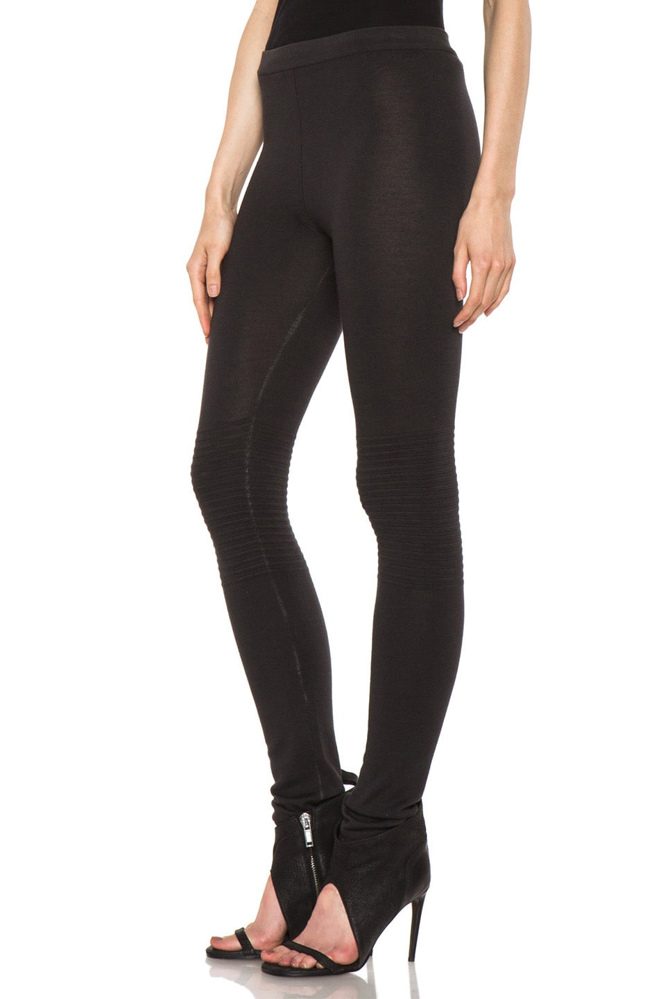 Image 2 of Rick Owens Knit Legging in Faded