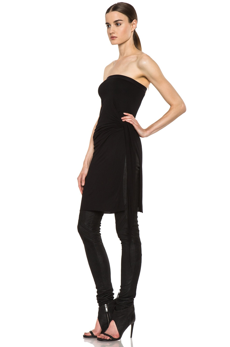 Image 6 of Rick Owens Dustulator Skirt in Black