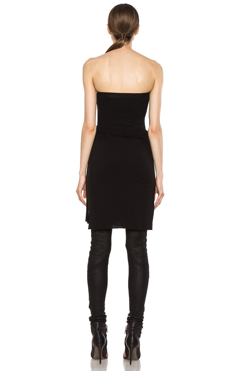 Image 7 of Rick Owens Dustulator Skirt in Black