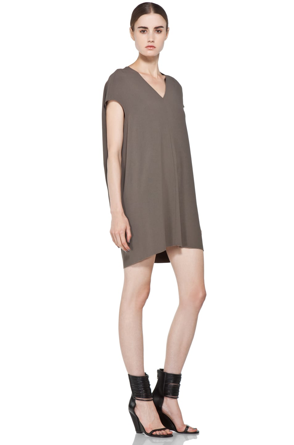 Image 3 of Rick Owens Floating Tunic in DNA Dust