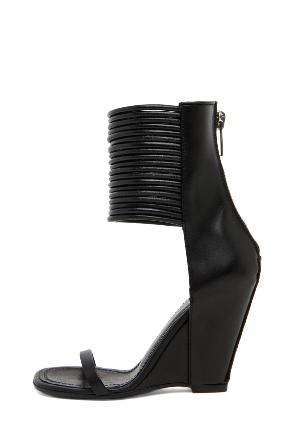 Image 1 of Rick Owens Cord Sandal in Black