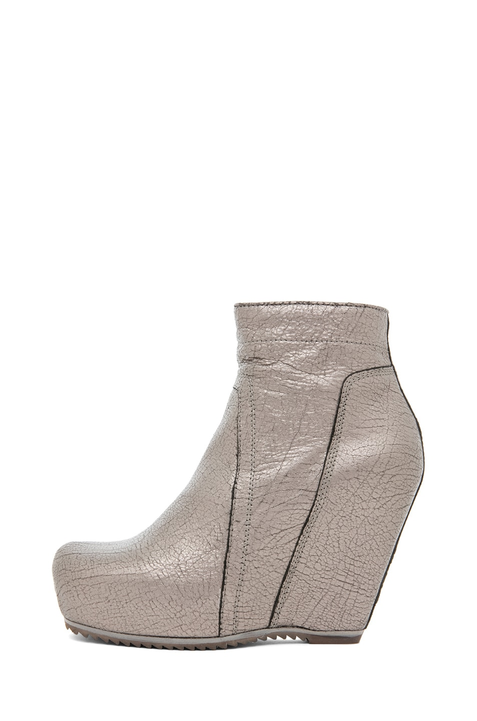 Image 1 of Rick Owens Wedge in Silver