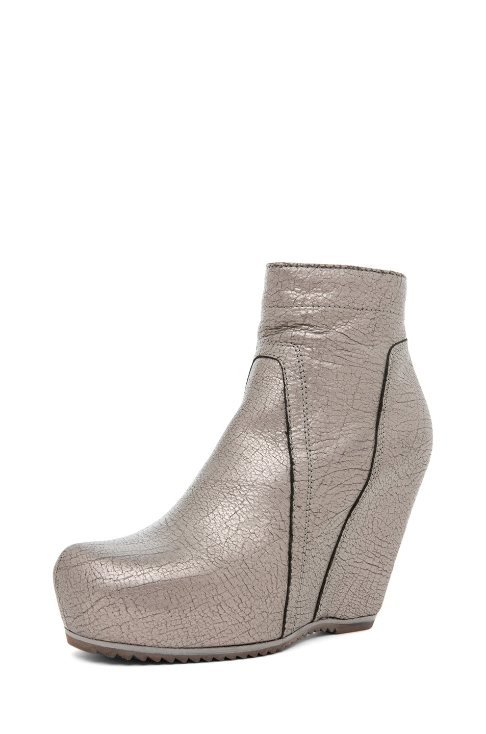 Image 2 of Rick Owens Wedge in Silver