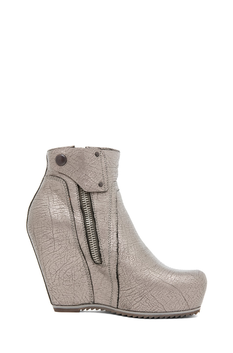 Image 5 of Rick Owens Wedge in Silver