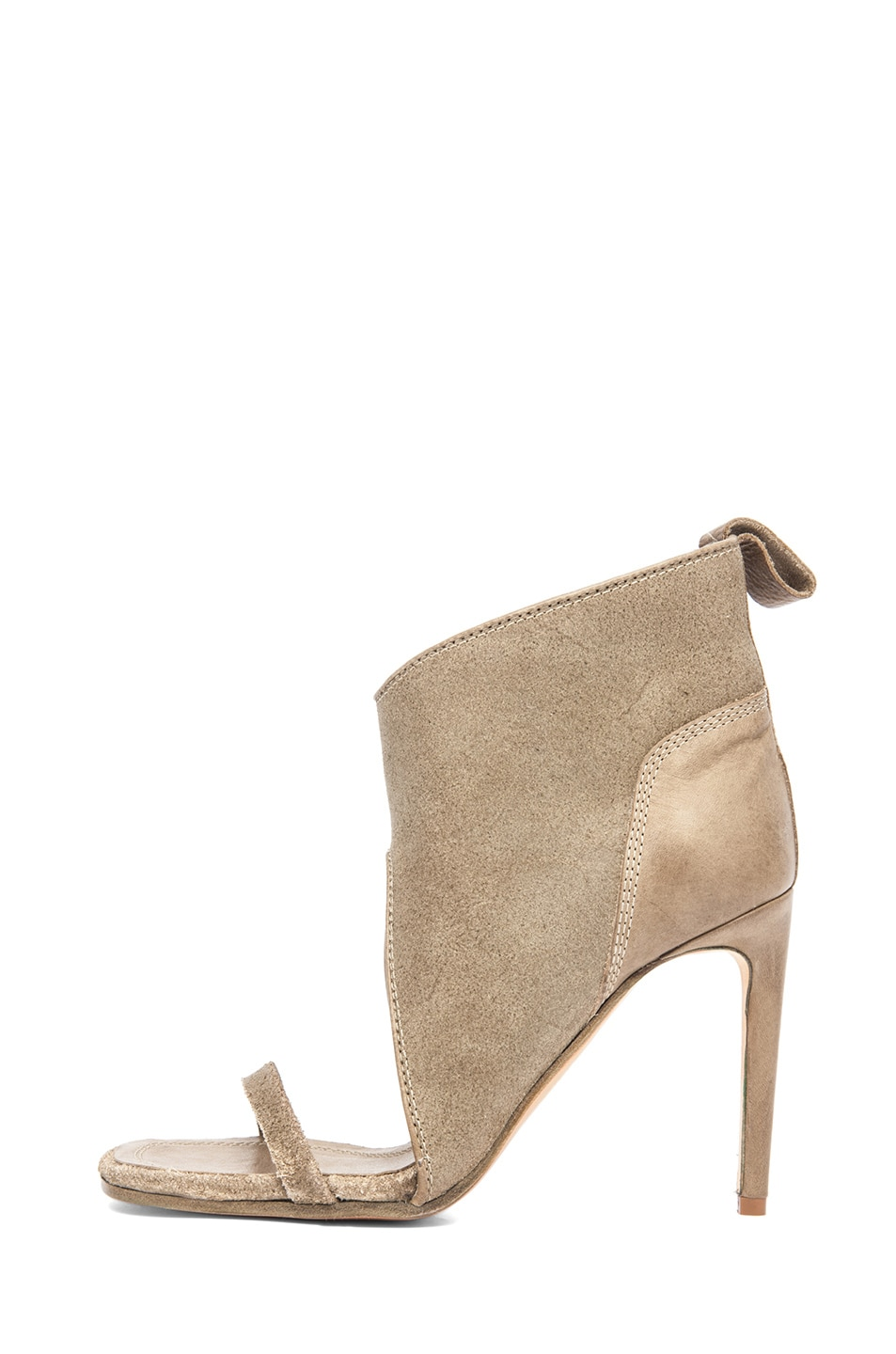 Image 1 of Rick Owens Spike Sandal Bootie in Taupe