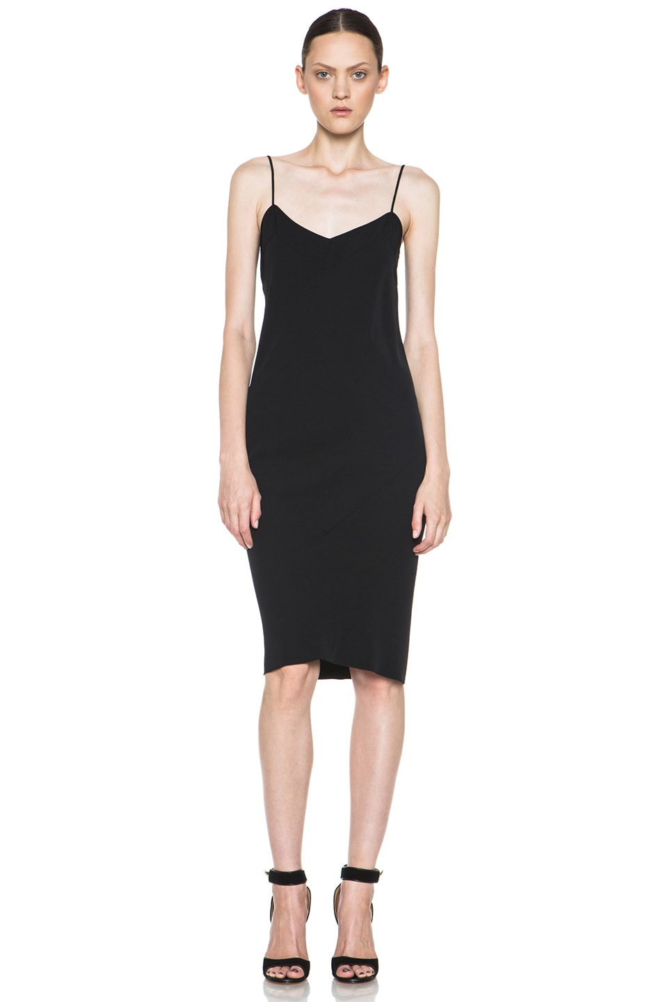 Image 1 of ROCHAS Slip Dress in Black