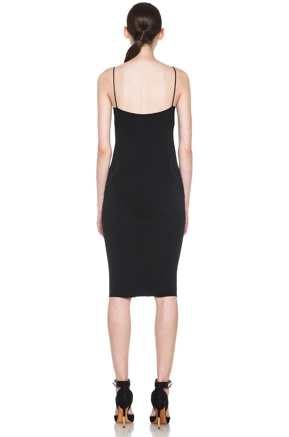 Image 4 of ROCHAS Slip Dress in Black