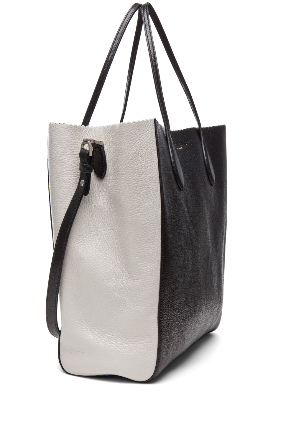 Image 3 of ROCHAS Borsa Tote in Black & White
