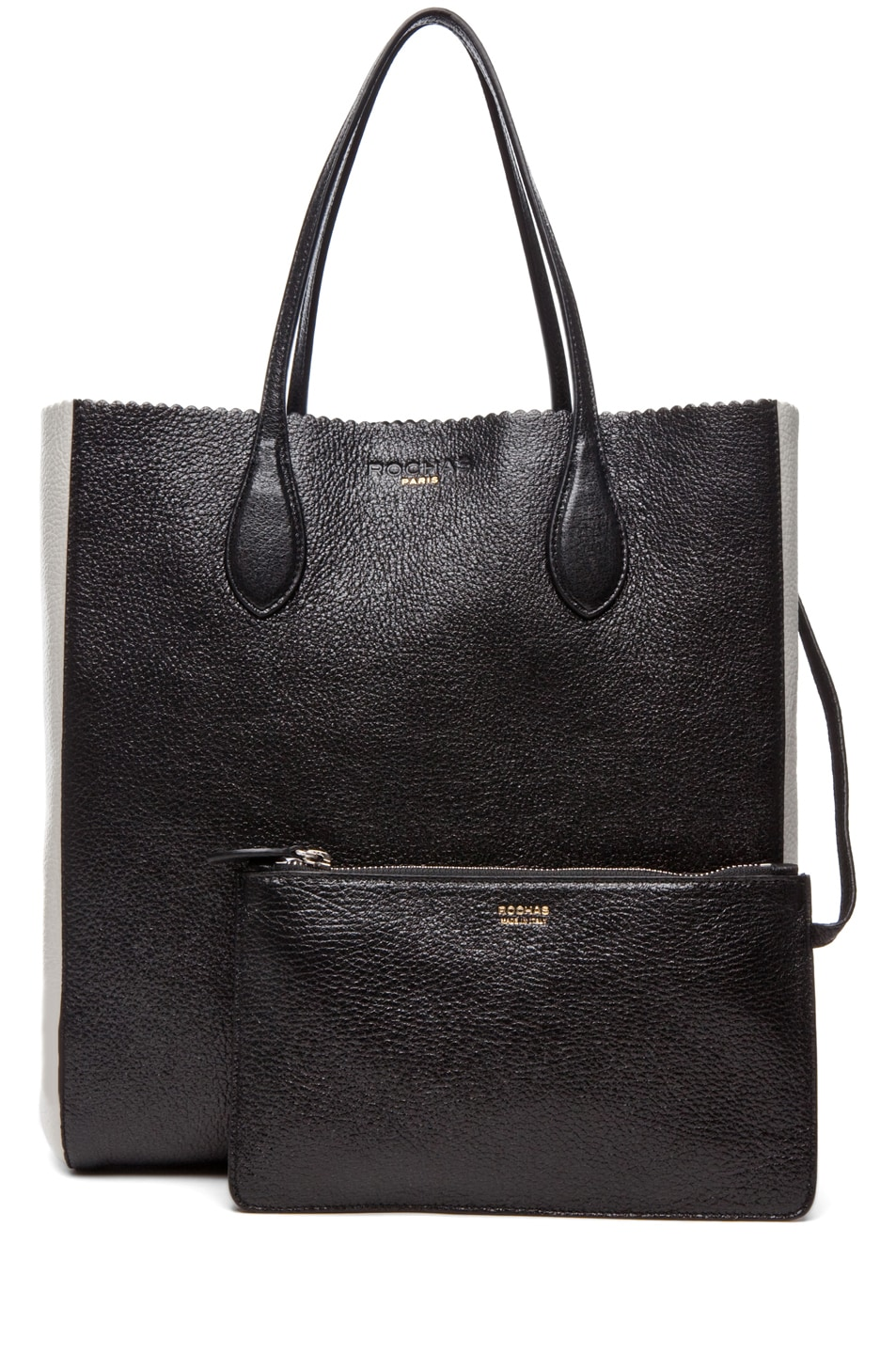 Image 5 of ROCHAS Borsa Tote in Black & White