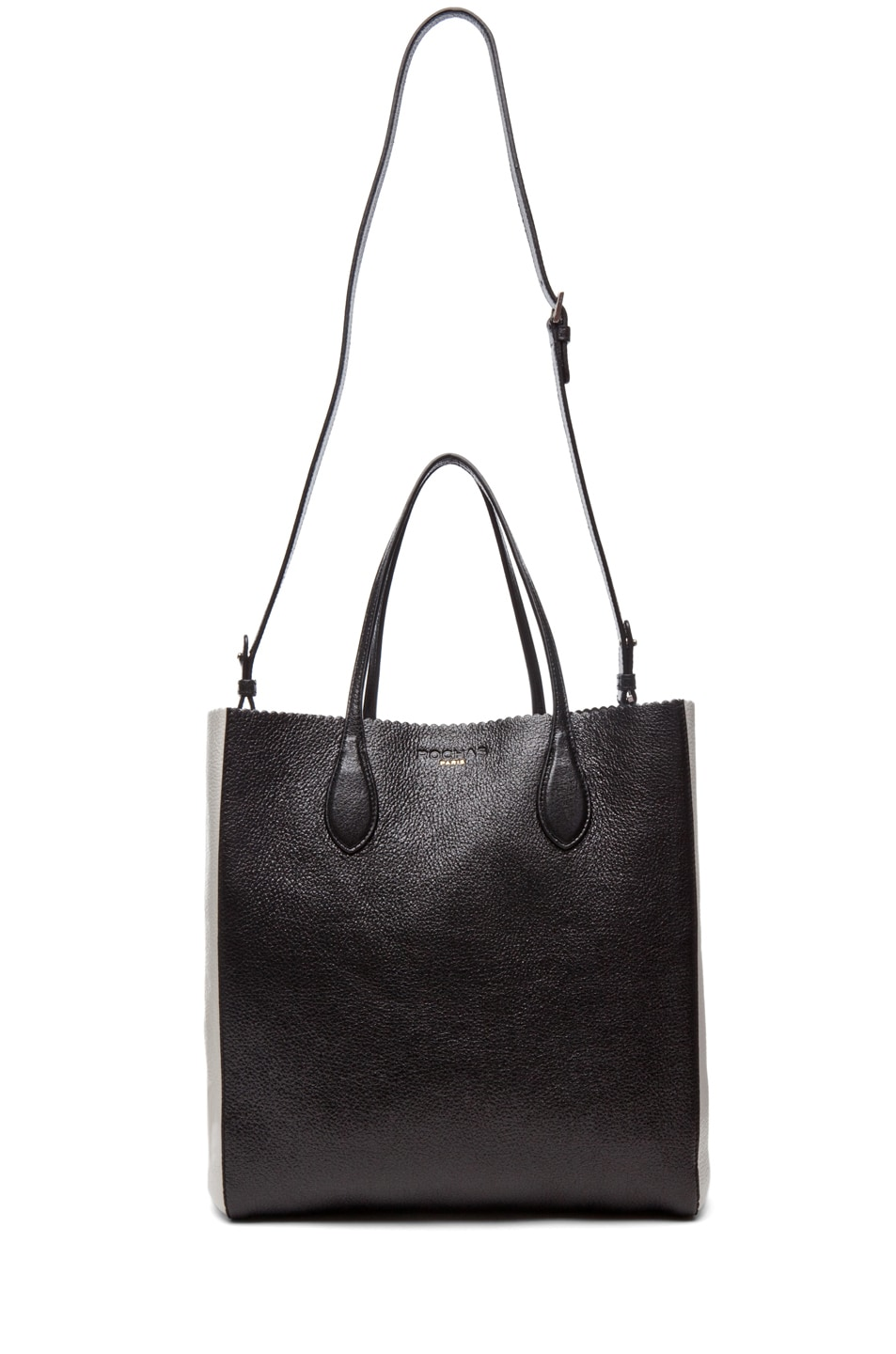 Image 6 of ROCHAS Borsa Tote in Black & White