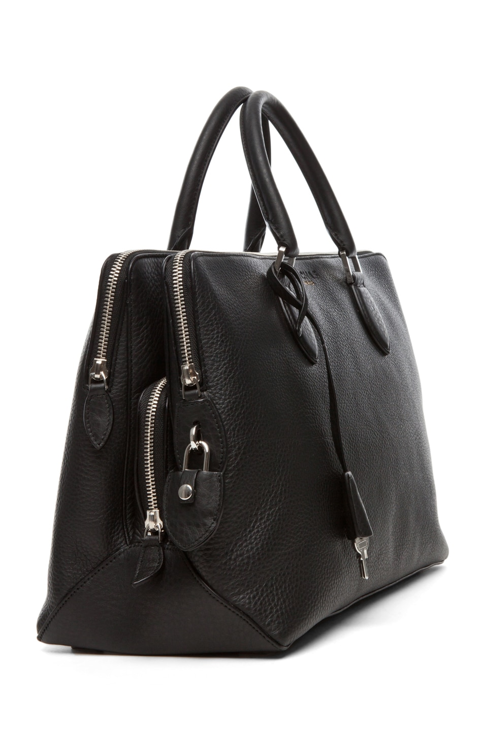 Image 3 of ROCHAS Borsa Satchel in Black