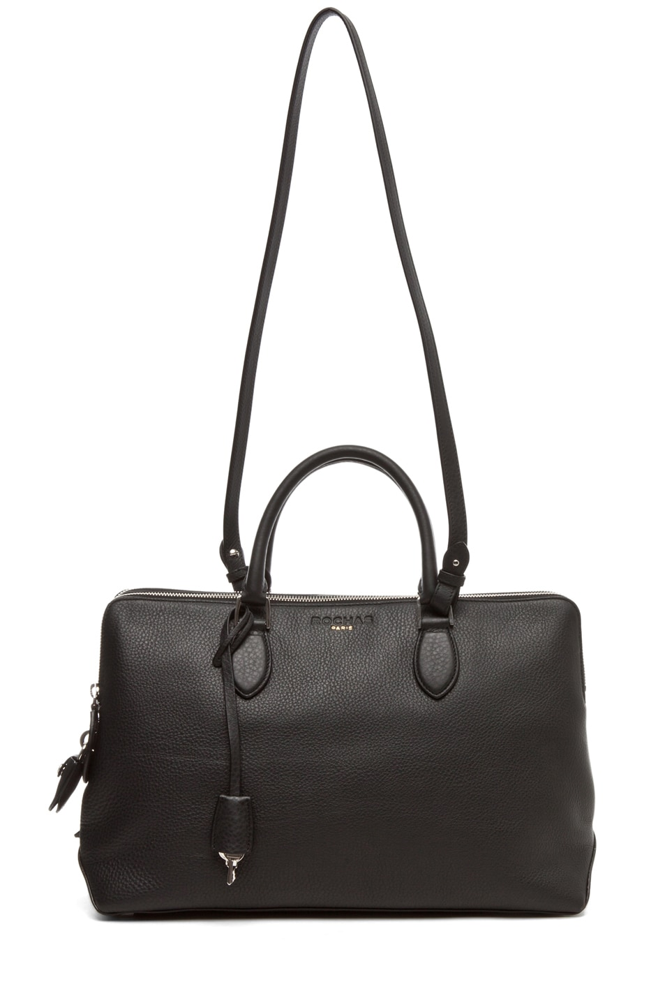 Image 5 of ROCHAS Borsa Satchel in Black